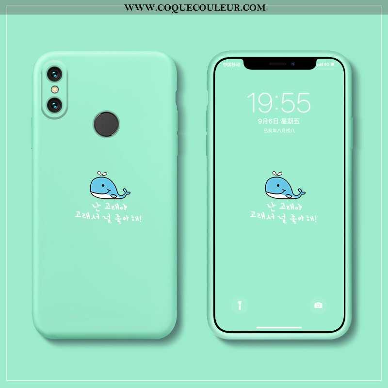 Coque Xiaomi Mi Mix 3 Fluide Doux Créatif Coque, Housse Xiaomi Mi Mix 3 Silicone Téléphone Portable