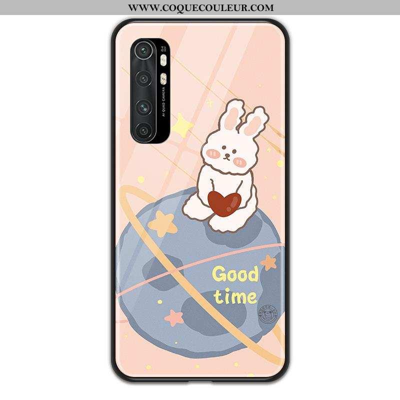 Housse Xiaomi Mi Note 10 Lite Dessin Animé Téléphone Portable Petit, Étui Xiaomi Mi Note 10 Lite Ver