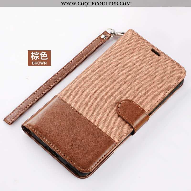 Housse Xiaomi Mi Note 10 Lite Protection Coque Carte, Étui Xiaomi Mi Note 10 Lite Tout Compris Marro