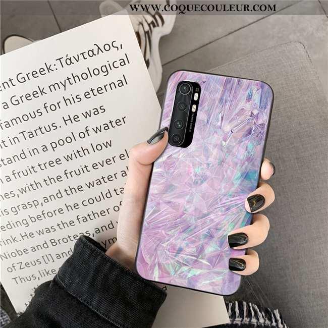 Housse Xiaomi Mi Note 10 Lite Violet Téléphone Portable Jeunesse, Étui Xiaomi Mi Note 10 Lite Coque