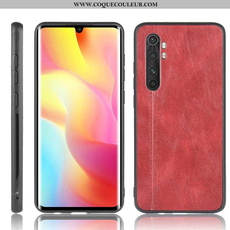 Coque Xiaomi Mi Note 10 Lite Modèle Fleurie Rouge Petit, Housse Xiaomi Mi Note 10 Lite Protection Bo