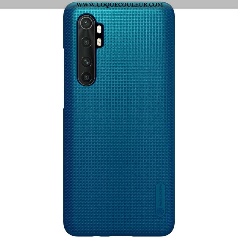 Coque Xiaomi Mi Note 10 Lite Délavé En Daim Tout Compris Protection, Housse Xiaomi Mi Note 10 Lite L