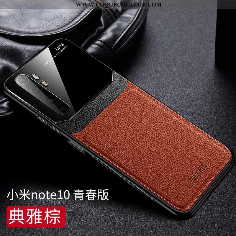 Étui Xiaomi Mi Note 10 Lite Personnalité Qualité Modèle Fleurie, Coque Xiaomi Mi Note 10 Lite Tendan