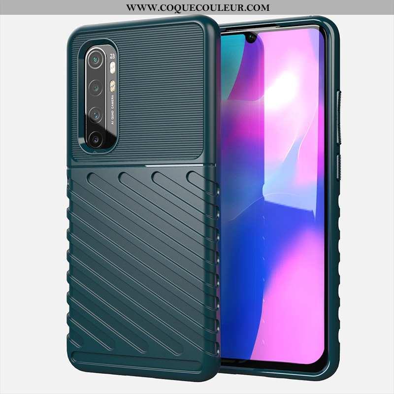 Étui Xiaomi Mi Note 10 Lite Silicone Coque Vert, Xiaomi Mi Note 10 Lite Téléphone Portable Petit Tur
