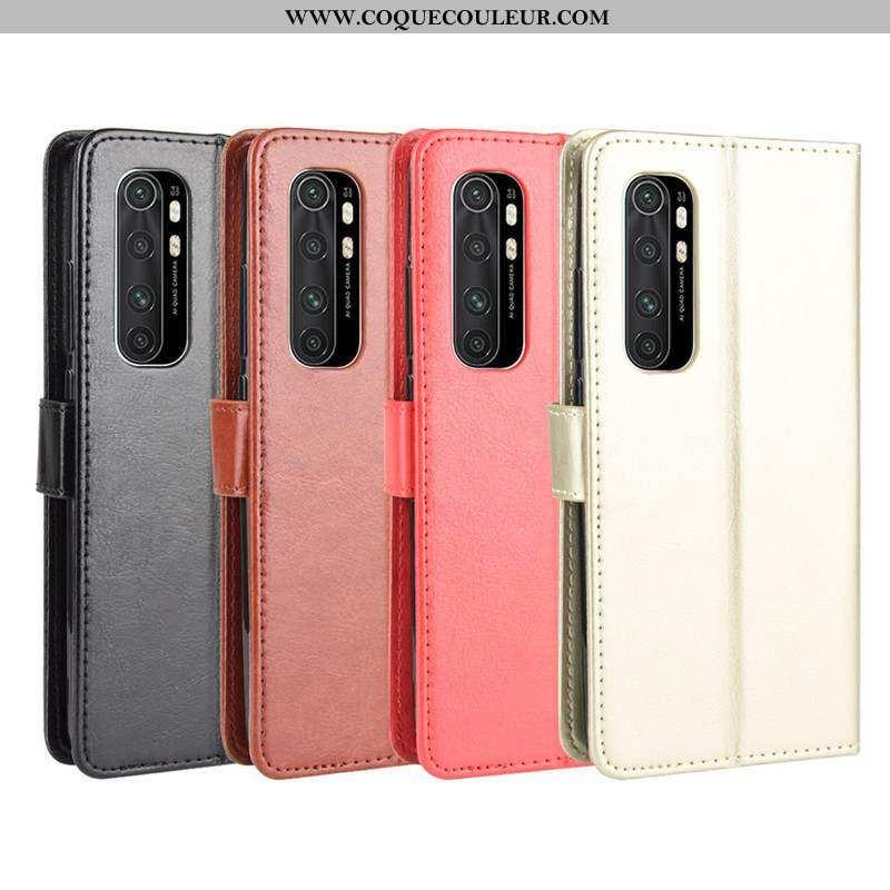 Étui Xiaomi Mi Note 10 Lite Ornements Suspendus Petit Couleur Unie, Coque Xiaomi Mi Note 10 Lite Cui