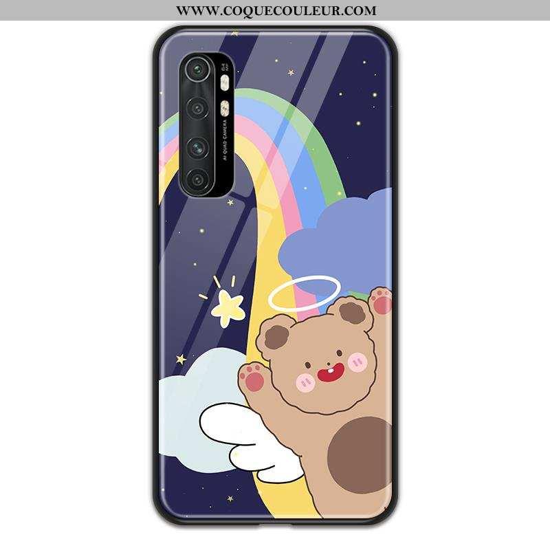 Coque Xiaomi Mi Note 10 Lite Dessin Animé Amoureux Téléphone Portable, Housse Xiaomi Mi Note 10 Lite