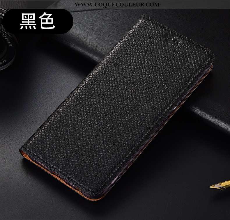 Coque Xiaomi Mi Note 10 Lite Cuir Véritable Petit Coque, Housse Xiaomi Mi Note 10 Lite Protection To