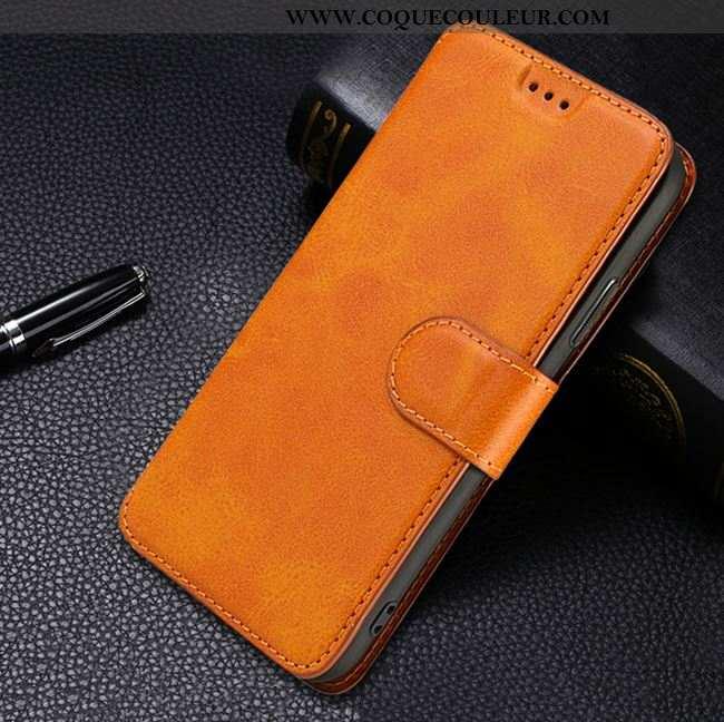 Housse Xiaomi Mi Note 10 Protection Petit Téléphone Portable, Étui Xiaomi Mi Note 10 Ultra Jaune