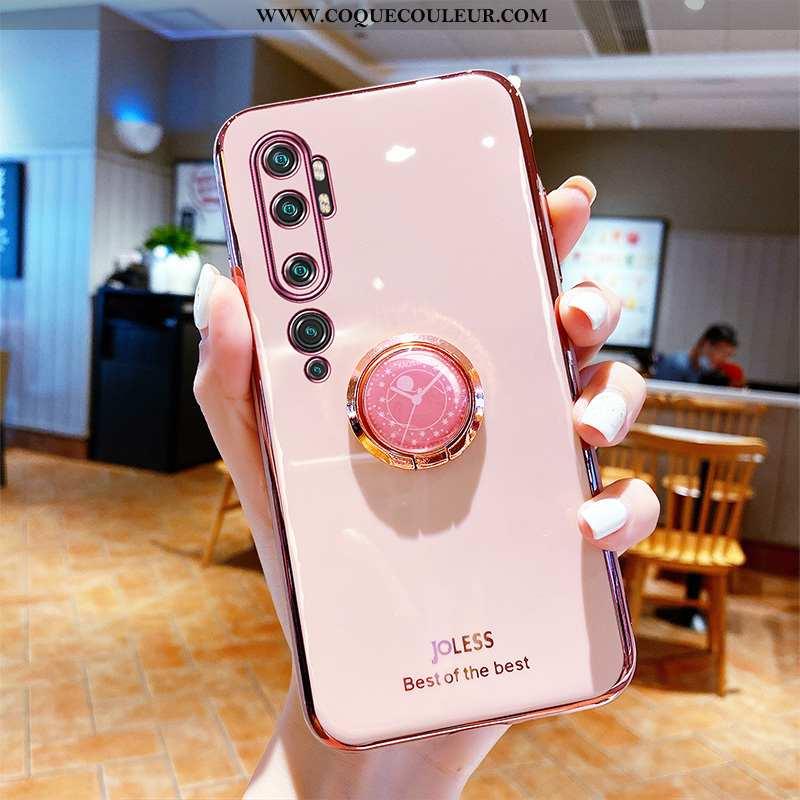 Housse Xiaomi Mi Note 10 Tendance Téléphone Portable Silicone, Étui Xiaomi Mi Note 10 Fluide Doux Cr