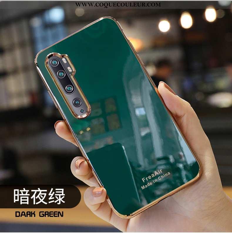 Étui Xiaomi Mi Note 10 Silicone Protection Petit, Coque Xiaomi Mi Note 10 Mode Téléphone Portable Ve