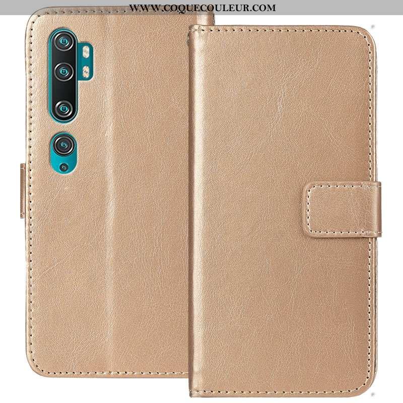 Housse Xiaomi Mi Note 10 Protection Petit Fluide Doux, Étui Xiaomi Mi Note 10 Tendance Incassable Do