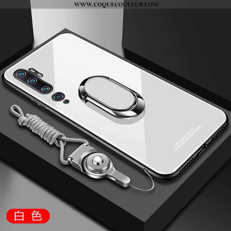 Housse Xiaomi Mi Note 10 Verre Fluide Doux Petit, Étui Xiaomi Mi Note 10 Tendance Téléphone Portable