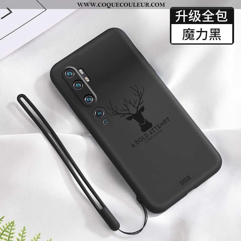 Coque Xiaomi Mi Note 10 Silicone Téléphone Portable Créatif, Housse Xiaomi Mi Note 10 Protection Pet