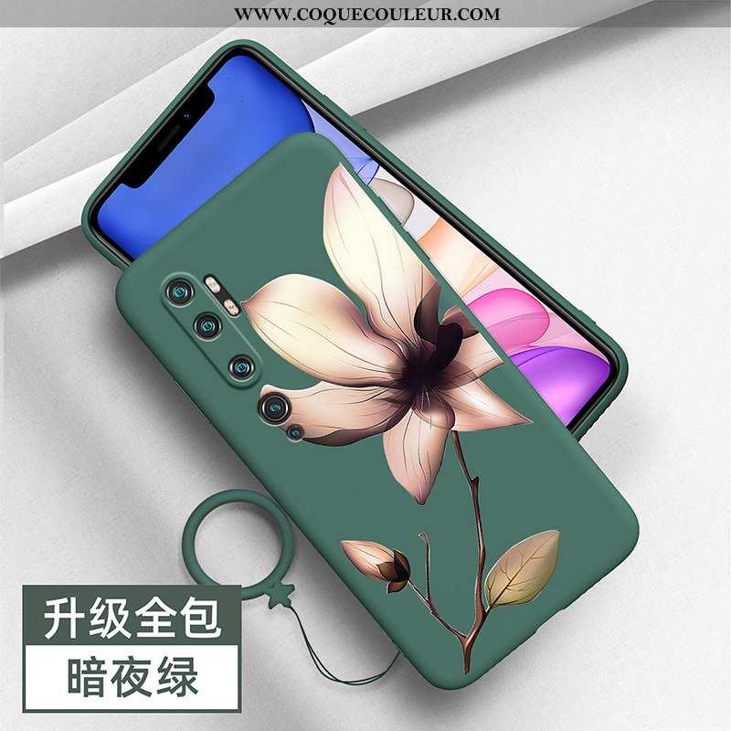 Étui Xiaomi Mi Note 10 Personnalité Coque, Coque Xiaomi Mi Note 10 Créatif Tout Compris Verte