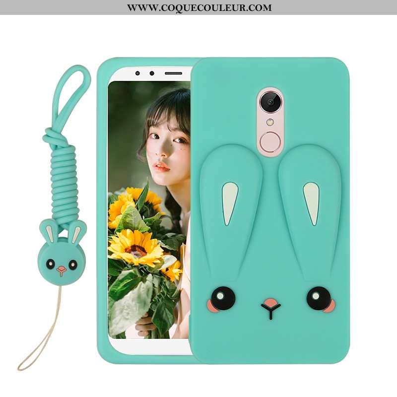 Étui Xiaomi Redmi 5 Fluide Doux Téléphone Portable Petit, Coque Xiaomi Redmi 5 Silicone Tendance Ver