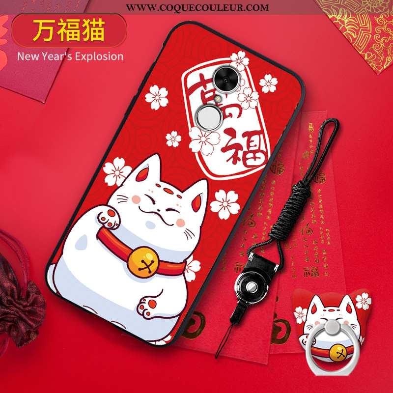 Coque Xiaomi Redmi 5 Silicone Net Rouge Créatif, Housse Xiaomi Redmi 5 Protection Tout Compris