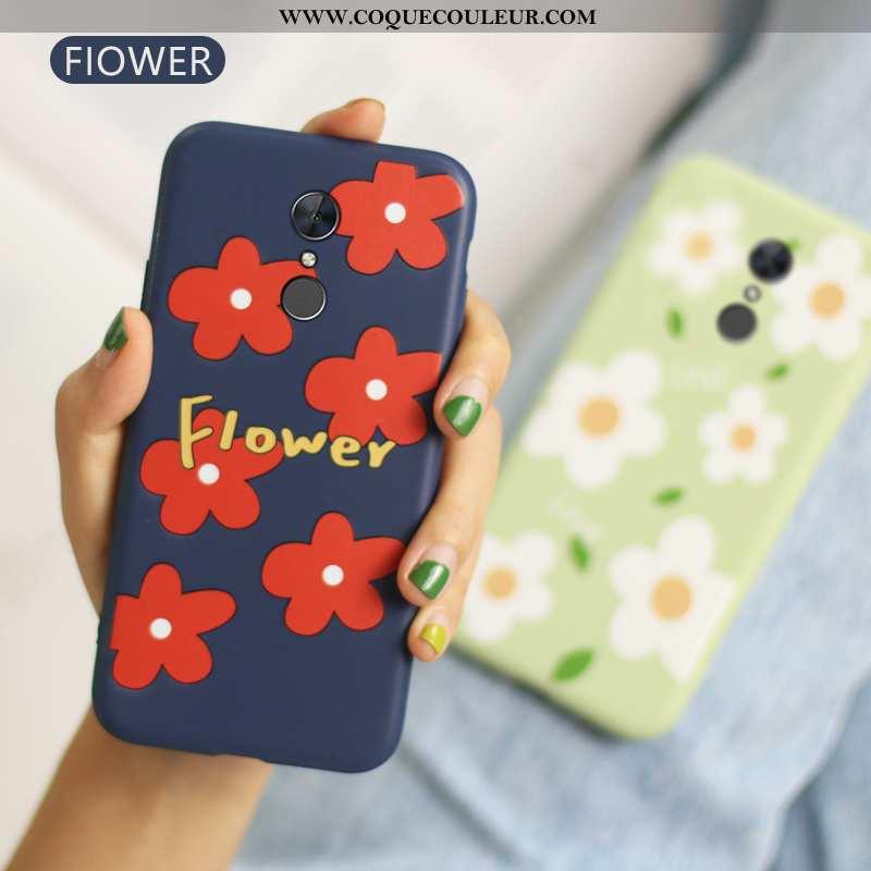 Coque Xiaomi Redmi 5 Ultra Protection Coque, Housse Xiaomi Redmi 5 Tendance Téléphone Portable Bleu