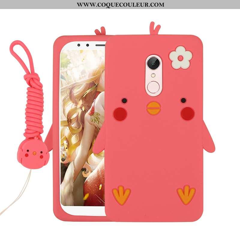 Coque Xiaomi Redmi 5 Silicone Fluide Doux Charmant, Housse Xiaomi Redmi 5 Dessin Animé Téléphone Por