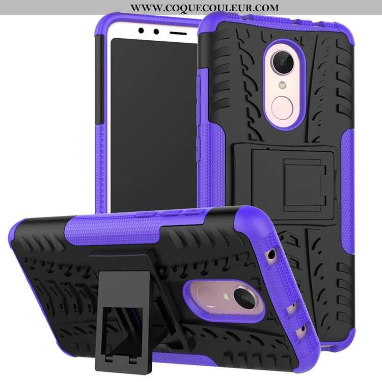 Étui Xiaomi Redmi 5 Fluide Doux Tendance, Coque Xiaomi Redmi 5 Protection Violet