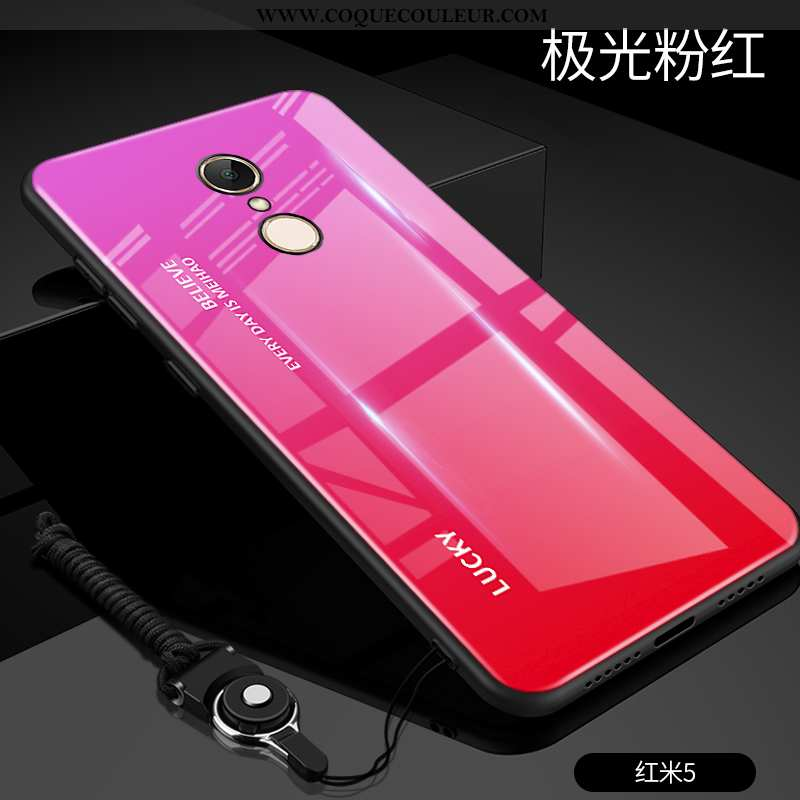 Housse Xiaomi Redmi 5 Ultra Étui Coque, Xiaomi Redmi 5 Tendance Tout Compris Rouge