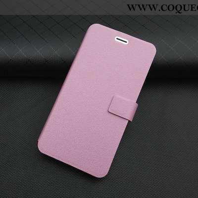 Housse Xiaomi Redmi 5 Cuir Incassable Rose, Étui Xiaomi Redmi 5 Fluide Doux Téléphone Portable Rose