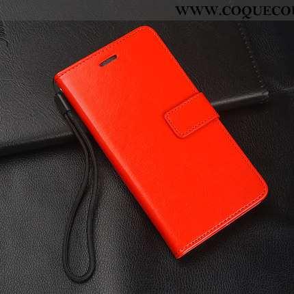 Housse Xiaomi Redmi 6 Fluide Doux Petit Rouge, Étui Xiaomi Redmi 6 Silicone Cuir Rouge