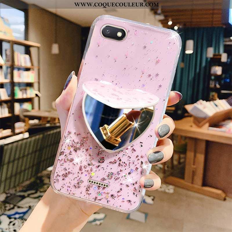 Coque Xiaomi Redmi 6a Luxe Téléphone Portable Fluide Doux, Housse Xiaomi Redmi 6a Transparent Amour