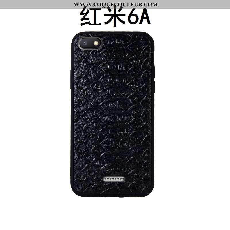 Housse Xiaomi Redmi 6a Fluide Doux Étui Rouge, Xiaomi Redmi 6a Silicone Téléphone Portable Noir