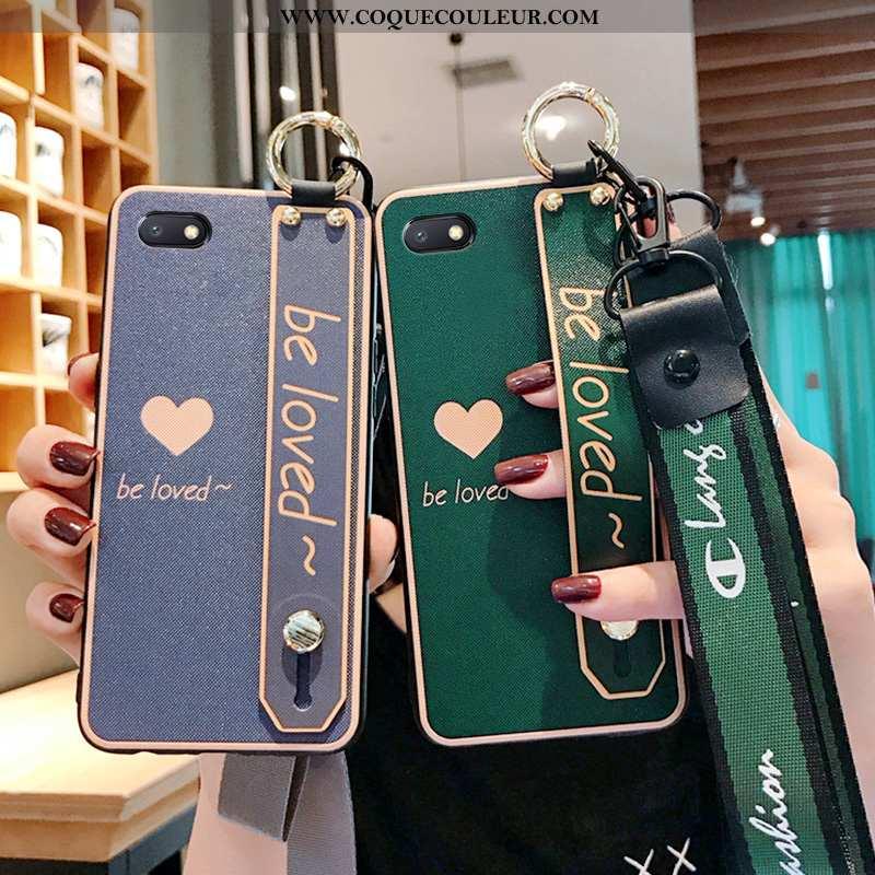 Housse Xiaomi Redmi 6a Fluide Doux Étui Protection, Xiaomi Redmi 6a Silicone Vert Verte