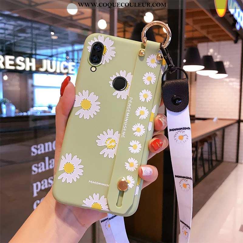Étui Xiaomi Redmi 7 Ornements Suspendus Téléphone Portable Petite Marguerite, Coque Xiaomi Redmi 7 P