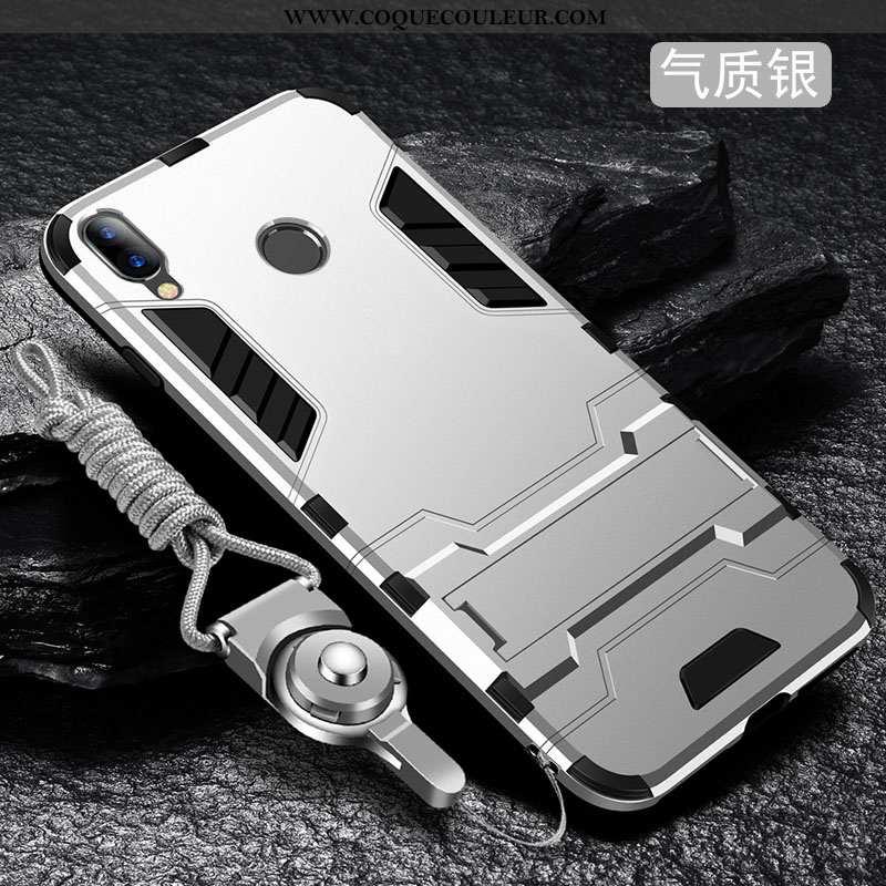 Coque Xiaomi Redmi 7 Protection Fluide Doux Rouge, Housse Xiaomi Redmi 7 Délavé En Daim Tout Compris