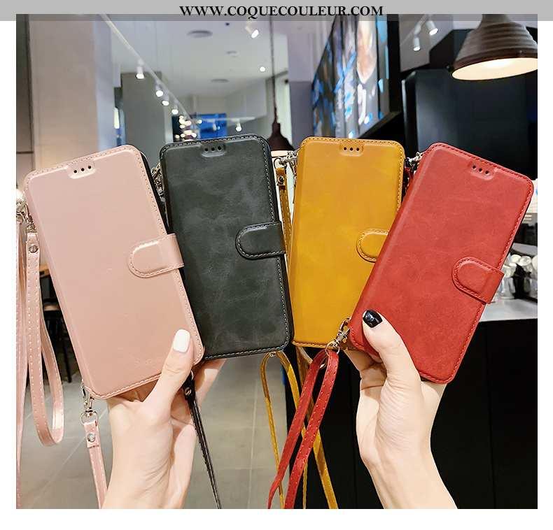 Coque Xiaomi Redmi 7 Fluide Doux Housse Incassable, Xiaomi Redmi 7 Silicone Téléphone Portable Rouge