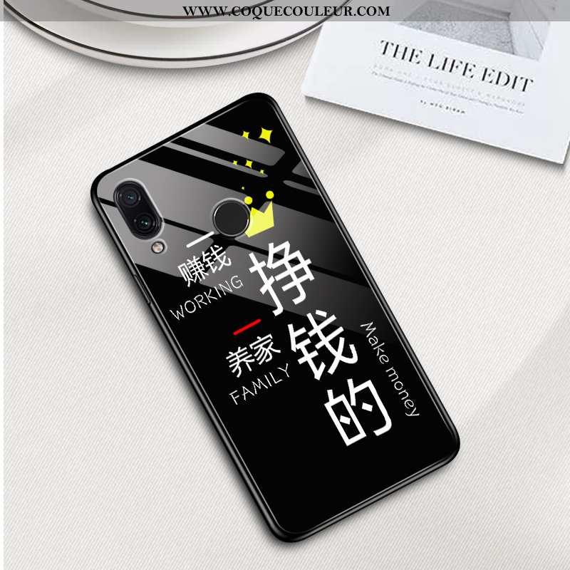Coque Xiaomi Redmi 7 Légère Protection Incassable, Housse Xiaomi Redmi 7 Silicone Noir