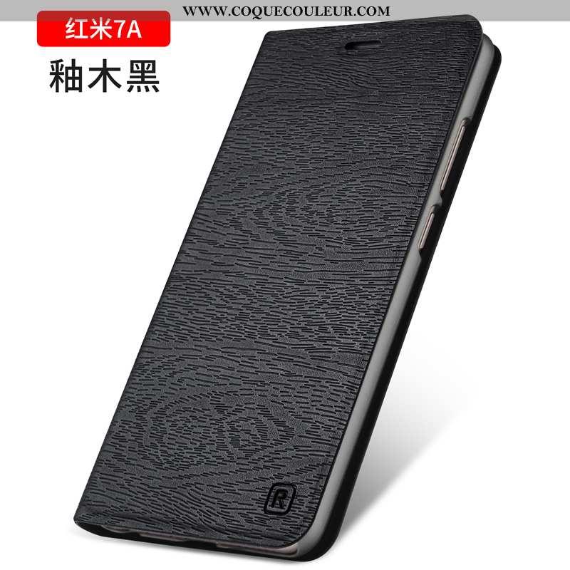 Housse Xiaomi Redmi 7a Silicone Business Incassable, Étui Xiaomi Redmi 7a Protection Coque Noir