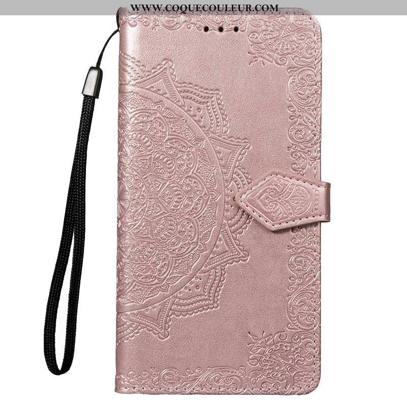 Housse Xiaomi Redmi 7a Silicone Petit Téléphone Portable, Étui Xiaomi Redmi 7a Protection Rose