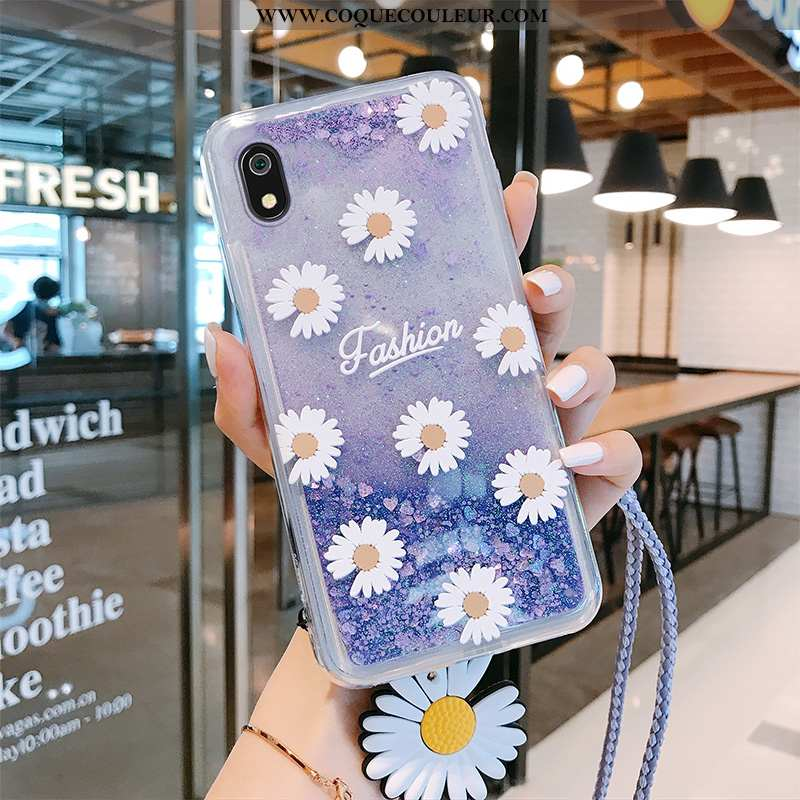 Coque Xiaomi Redmi 7a Personnalité Téléphone Portable Violet, Housse Xiaomi Redmi 7a Créatif Ornemen
