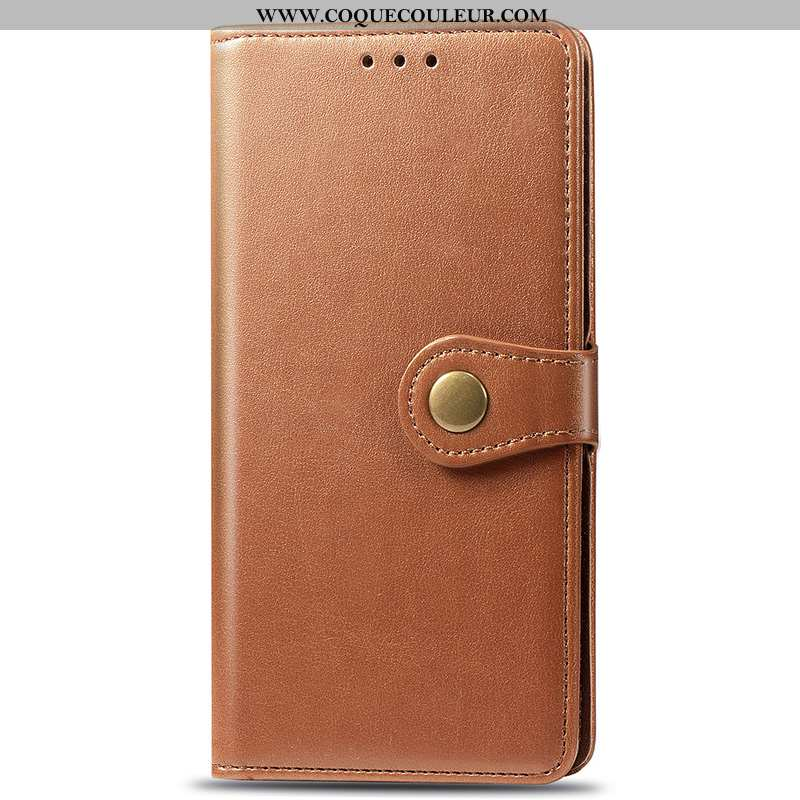 Étui Xiaomi Redmi 7a Portefeuille Protection Incassable, Coque Xiaomi Redmi 7a Cuir Fluide Doux Marr
