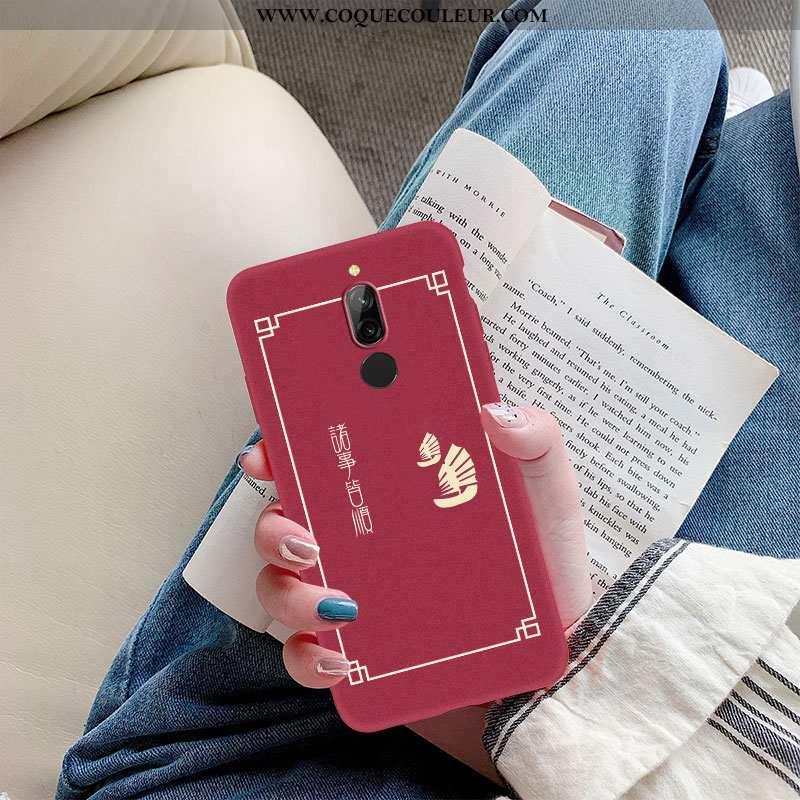 Housse Xiaomi Redmi 8 Légère De Fête Délavé En Daim, Étui Xiaomi Redmi 8 Fluide Doux Téléphone Porta