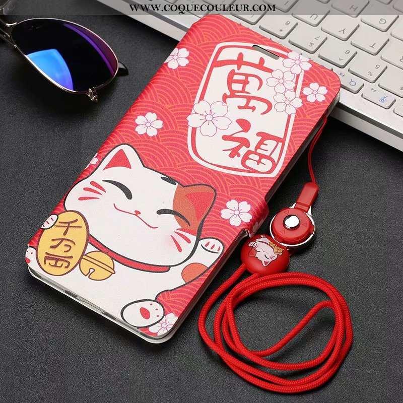 Housse Xiaomi Redmi 8 Délavé En Daim Incassable Protection, Étui Xiaomi Redmi 8 Personnalité Petit R