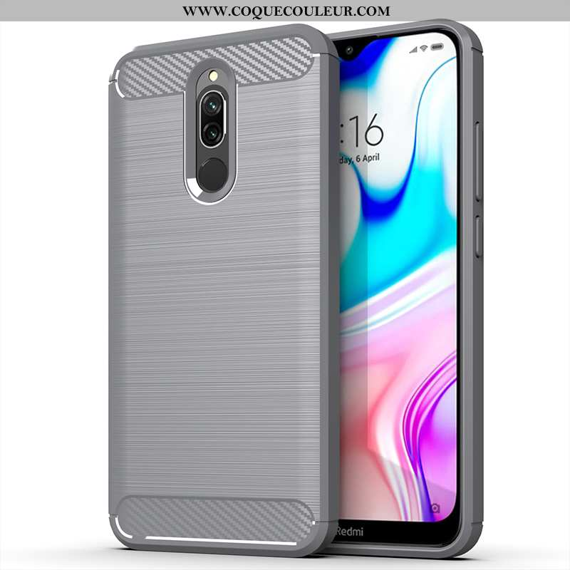 Coque Xiaomi Redmi 8 Protection Silicone Téléphone Portable, Housse Xiaomi Redmi 8 Délavé En Daim In