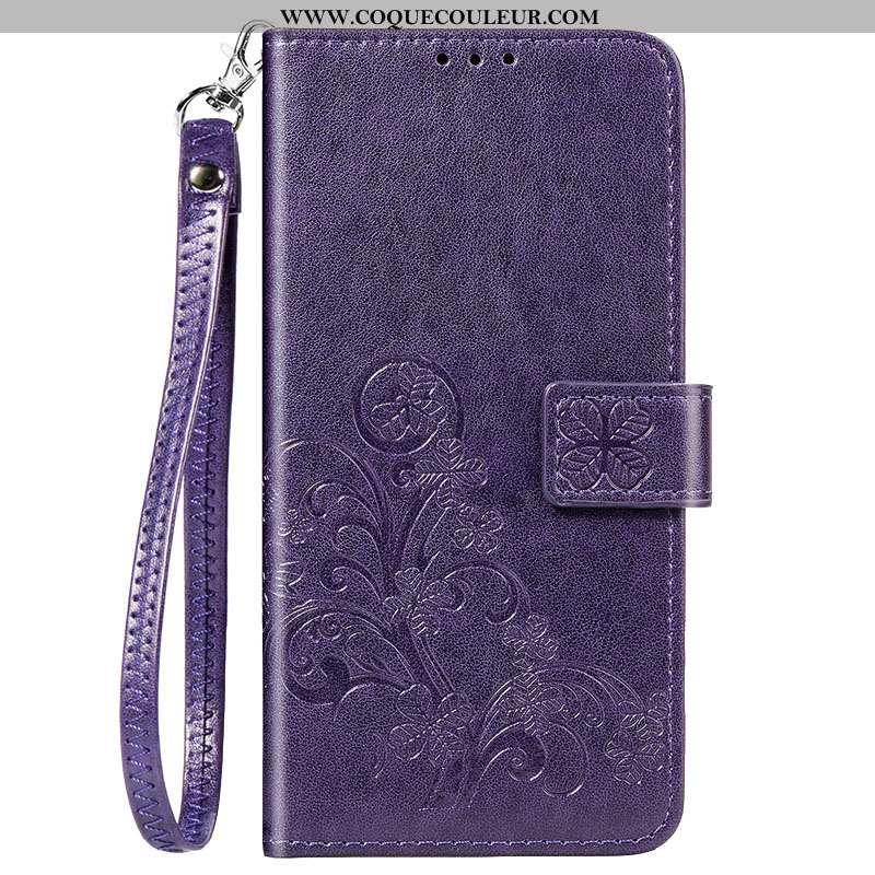 Housse Xiaomi Redmi 8 Silicone Clamshell Rouge, Étui Xiaomi Redmi 8 Protection Petit Violet