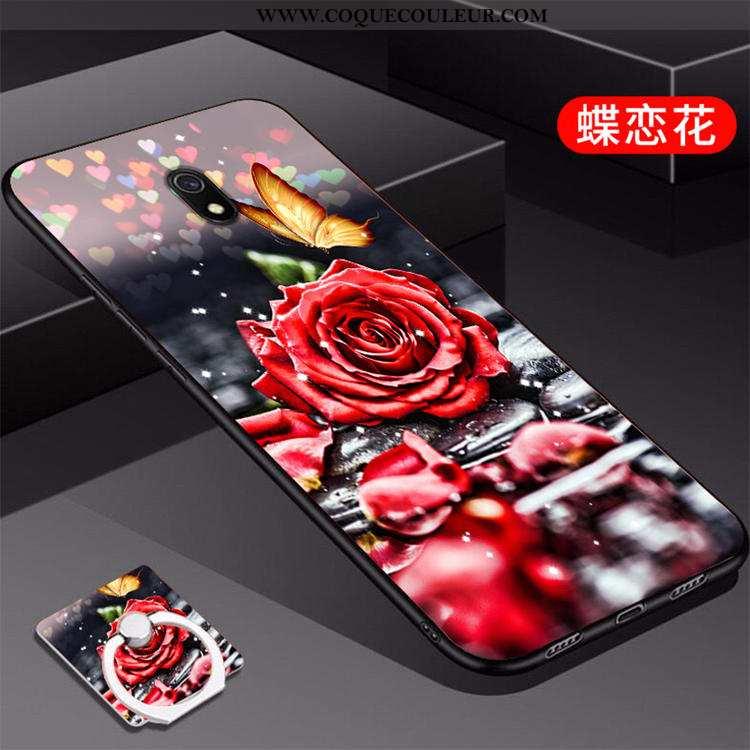 Étui Xiaomi Redmi 8a Créatif Incassable, Coque Xiaomi Redmi 8a Tendance Rouge