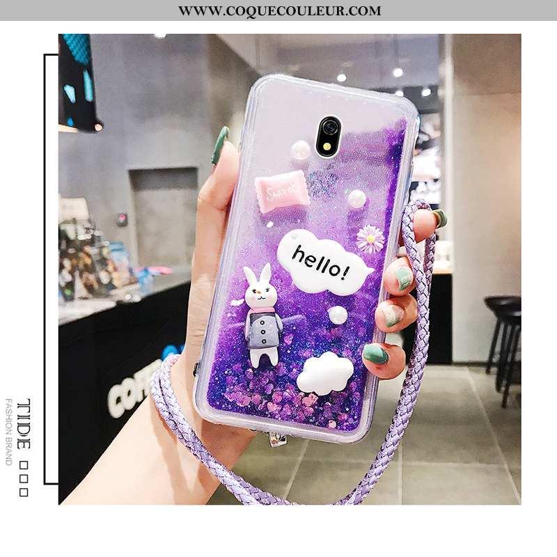 Étui Xiaomi Redmi 8a Charmant Coque Incassable, Xiaomi Redmi 8a Protection Violet