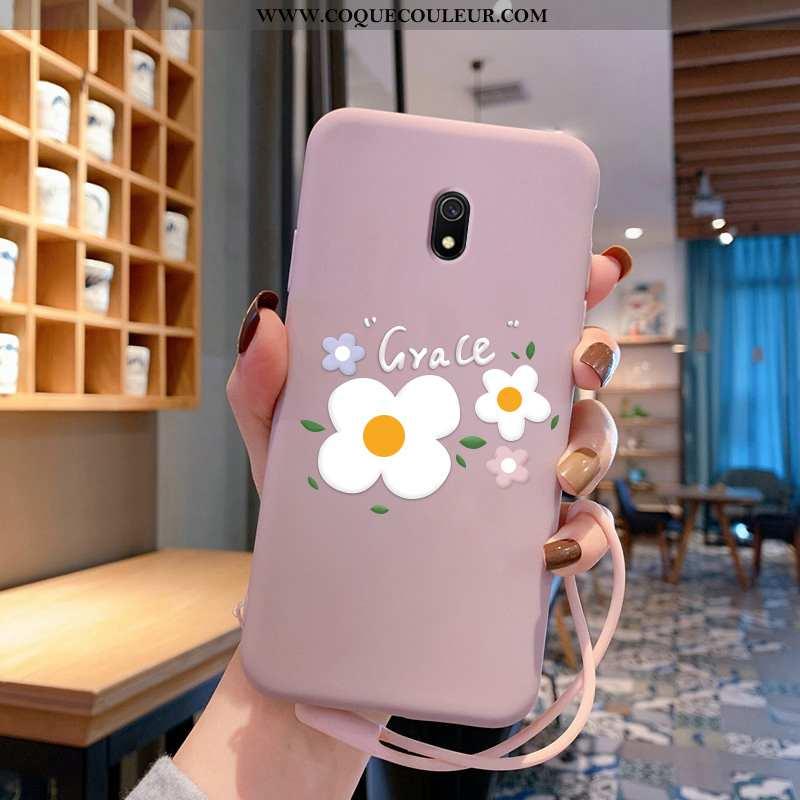Étui Xiaomi Redmi 8a Charmant Dessin Animé Étui, Coque Xiaomi Redmi 8a Ultra Légère Rose