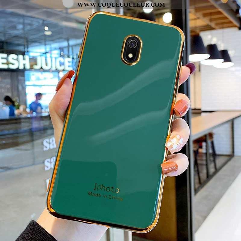Coque Xiaomi Redmi 8a Silicone Amoureux Légère, Housse Xiaomi Redmi 8a Protection Vert Verte