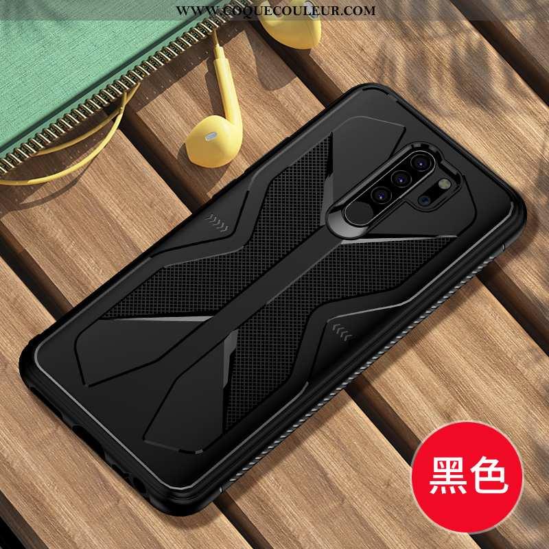 Housse Xiaomi Redmi 9 Délavé En Daim Refroidissement Protection, Étui Xiaomi Redmi 9 Personnalité Si