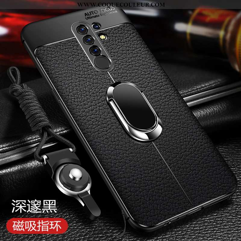 Coque Xiaomi Redmi 9 Ultra Étui Tout Compris, Housse Xiaomi Redmi 9 Légère Membrane Noir