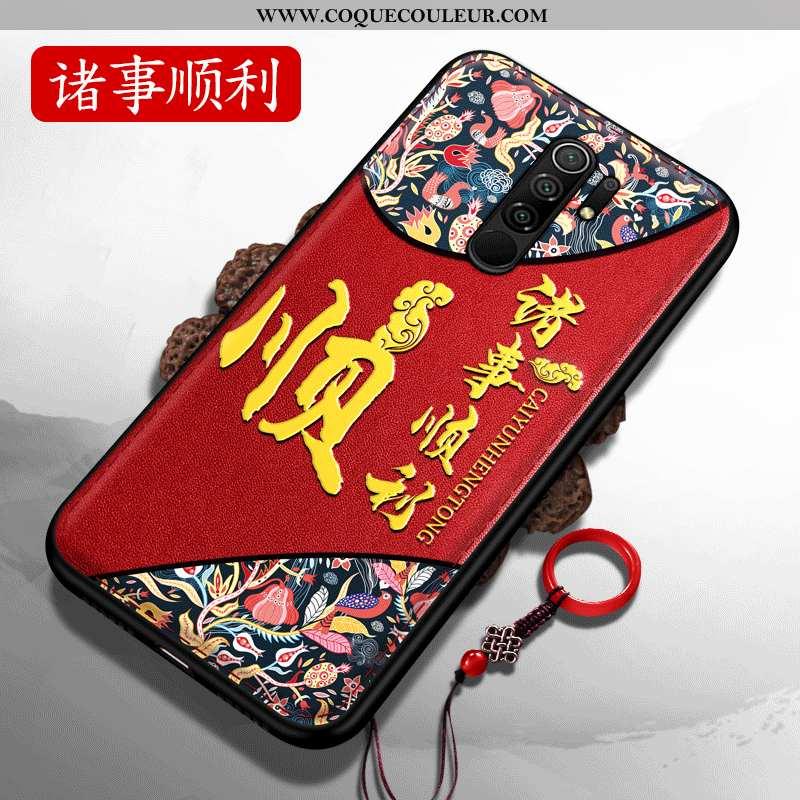 Coque Xiaomi Redmi 9 Créatif Tout Compris Personnalité, Housse Xiaomi Redmi 9 Gaufrage Téléphone Por