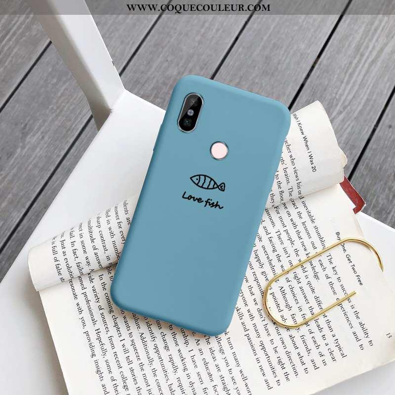 Coque Xiaomi Redmi Note 5 Charmant Bleu Petit, Housse Xiaomi Redmi Note 5 Tendance Protection