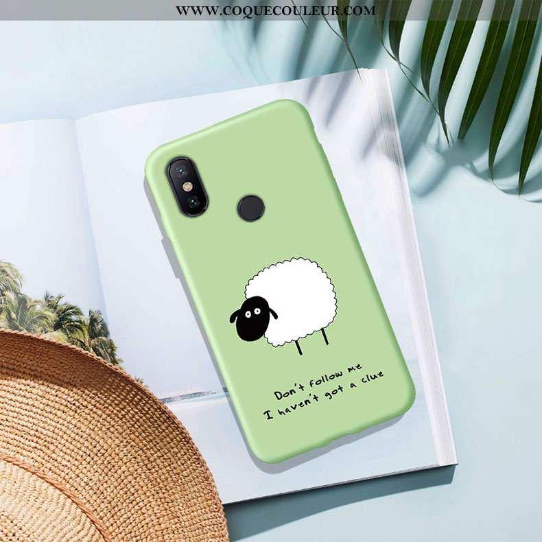 Étui Xiaomi Redmi Note 5 Créatif Incassable Protection, Coque Xiaomi Redmi Note 5 Silicone Vert Vert